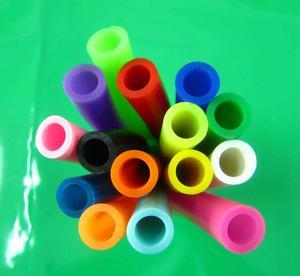 彩色矽膠管8